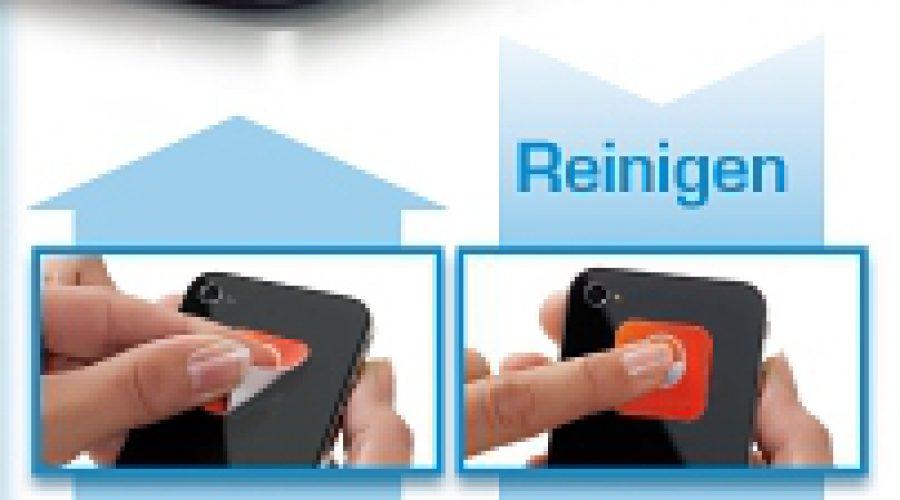 Reinigungspads für alle Smartphones (z.B. iPhone) – Made in Germany