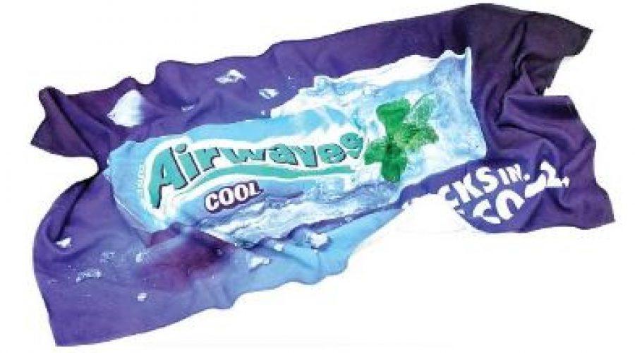 Mikrofaser Handtuch mit Werbung