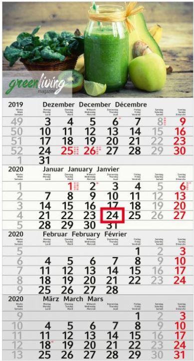 Recycling Kalender Budget 4