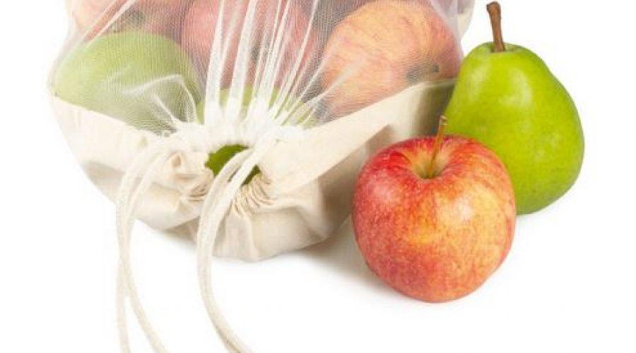 Nachhaltige Werbung mit Obst- und Gemüsebeutel
