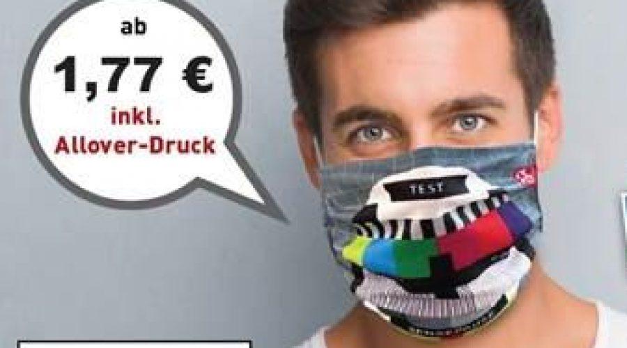 Mund-Nase-Masken als Werbeartikel