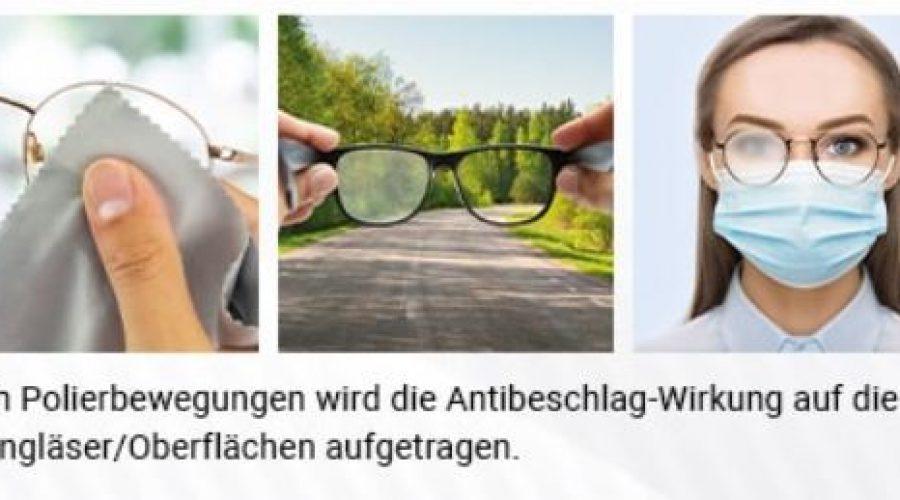Antibeschlag-Microfasertuch als Werbemittel – PFAS-frei